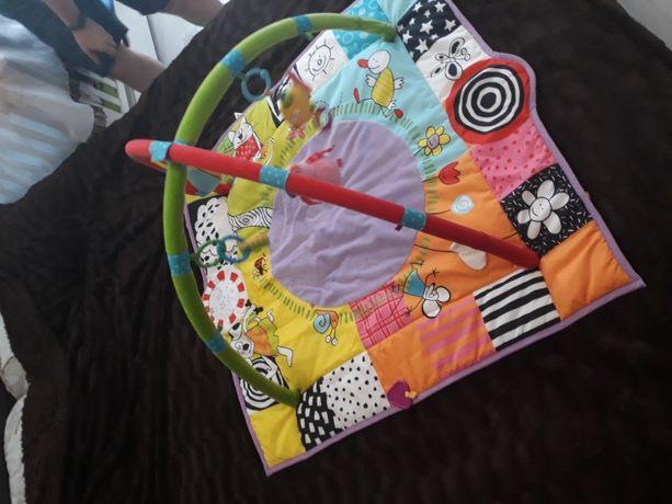Развивающий музыкальный коврик Taf Toys с мягкими дугами