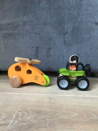 Zestaw 2 pojazdów (hape + fisher price)