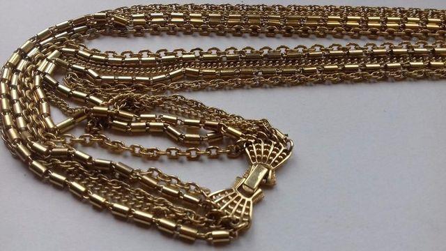 Винтажное многоярусное ожерелье CROWN TRIFARI
