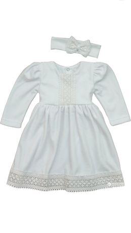 Нарядна сукня для дівчинки на 2-3 місяці