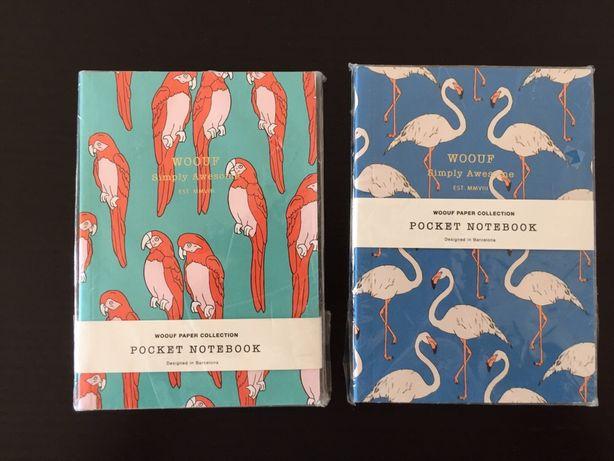 Caderno de bolso | pocket notebook WOOUF