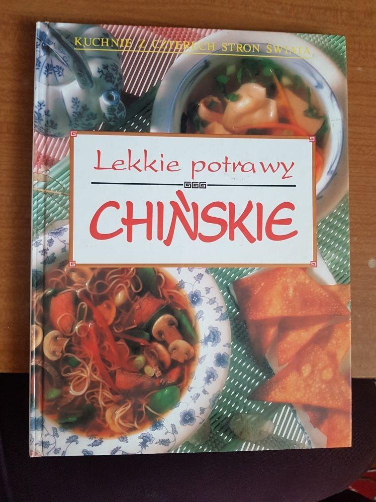 """Książka kulinarna """"Lekkie potrawy chińskie"""""""
