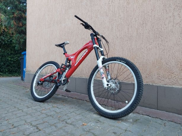 Rower MTB dh w całości lub na części