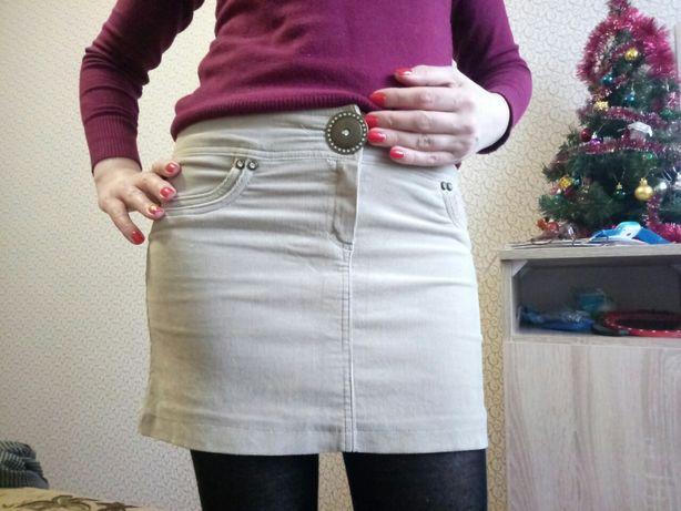 Продается вельветовая юбка.