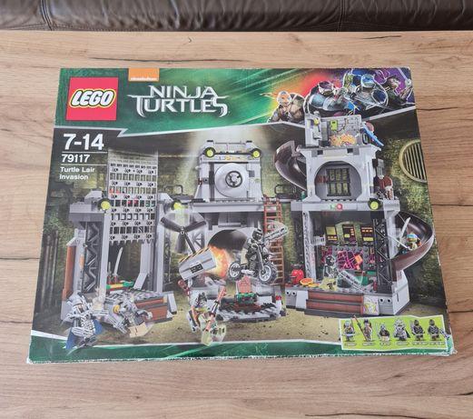 Klocki Lego 79117 Wojownicze Żółwie Ninja Inwazja na kryjówkę Żółwi
