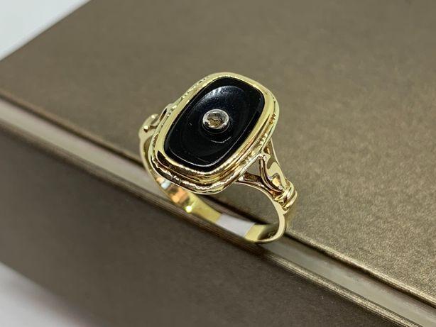 Piękny złoty sygnet 585 R-15