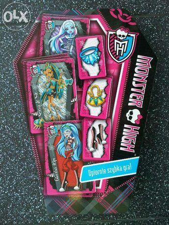 """WYPRZEDAŻ!!! OKAZJA – dwie gry z serii """"Monster High"""" - stan bardzo do"""