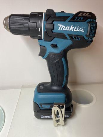 Wiertarko-wkrętarka Makita 14.4V DDF470 + bateria 1.5 Ah