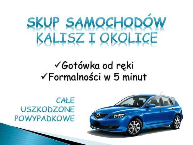 Skup Aut Samochodów Kalisz i Okolice Ostrów Wlkp. Gotówka w 5 min!!