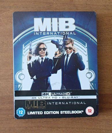 MIB International Faceci w czerni 4 - Steelbook 4K UHD Blu-ray PL