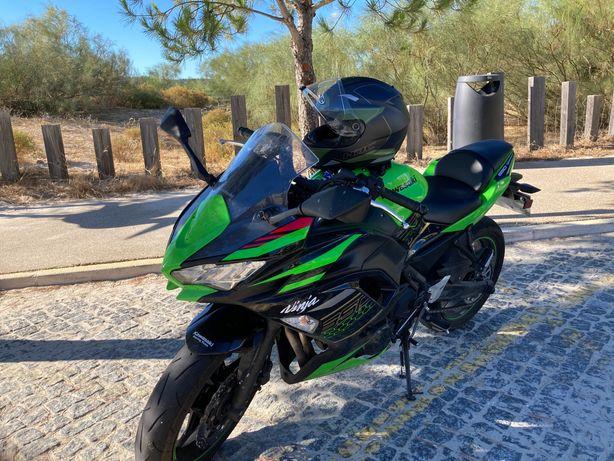 Kawasaki Ninja 650 KRT 2020 como NOVA