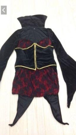 Sukienka frak przebranie złej królowej