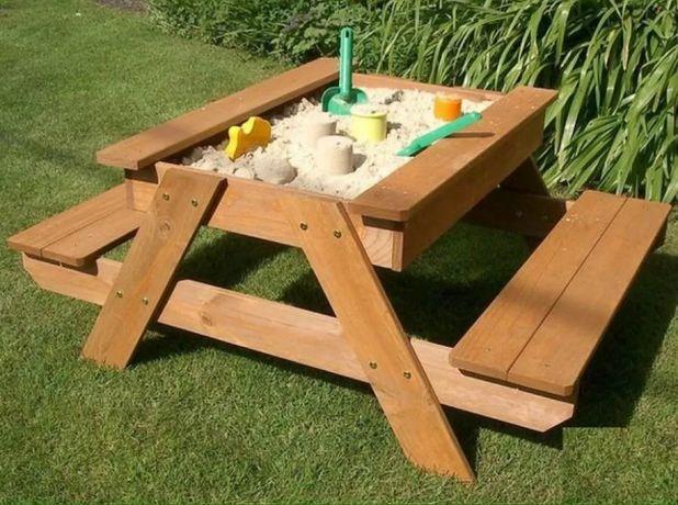 Детская песочница стол (акция мешок песка в подарок) пісочниця