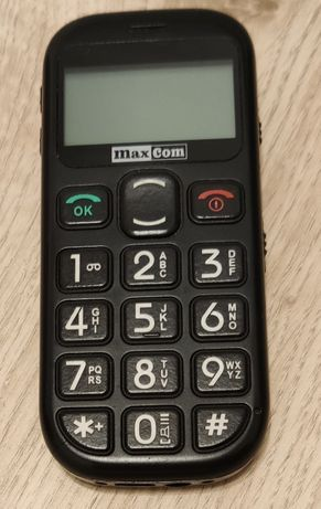 Telefon dla seniora MAXCOM MM431BB
