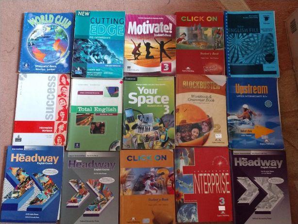 книги английский язык Cutting edge, total english, round up, grammar