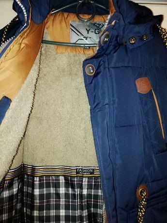 Зимняя, фабричная, качественная куртка на мальчика подростка 12-13 лет