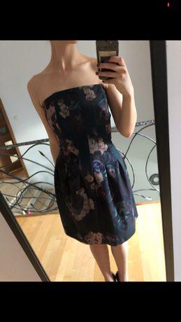 Sukienka bez ramiączek H&M 38 M