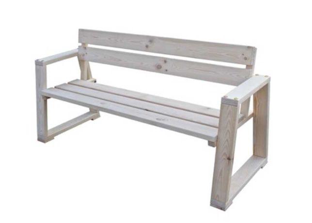 Ławka drewniana 140 cm