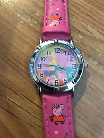 nowy zegarek świnka peppa