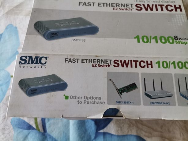 Switch SMC 8 portas