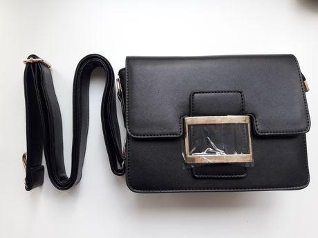 Клатч сумка черный