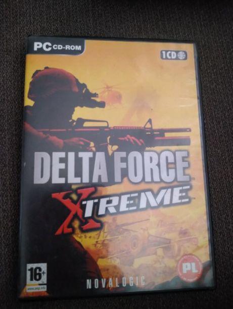 Gry na komputer pc/dvd. DELTA FORCE XTREME PL