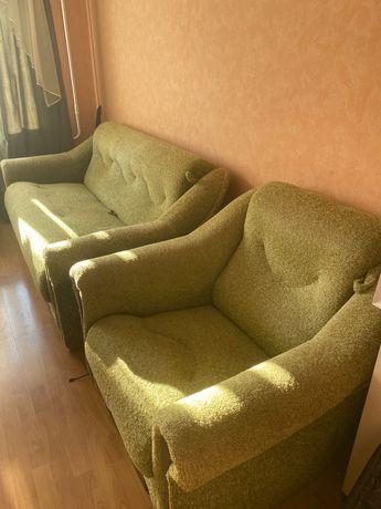Диван + кресло - кровать