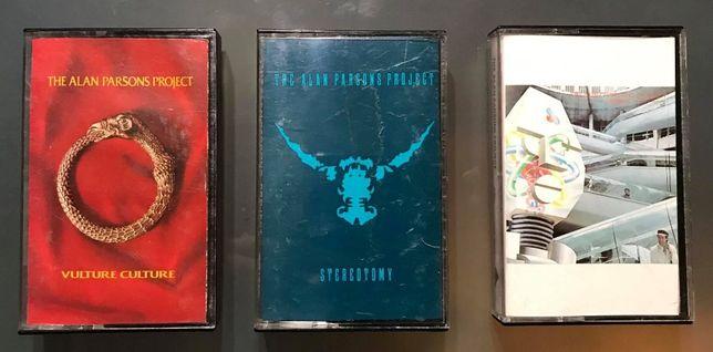 Alan Parsons - cassetes audio originais