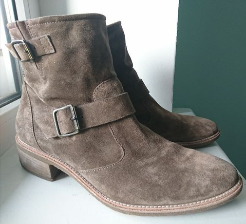Paul Green 7р 26,5см замшевые ботинки
