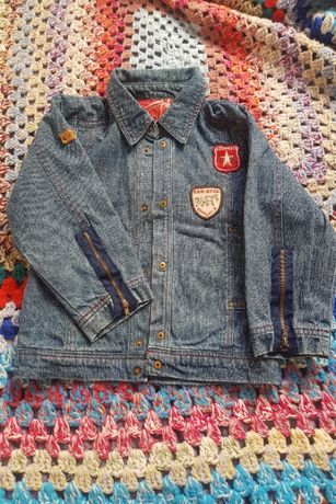 kurtka jeansowa chłopięca rozm.104