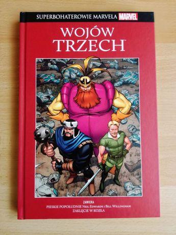 Superbohaterowie Marvela - WOJÓW TRZECH - kolekcja Hachette, tom 9