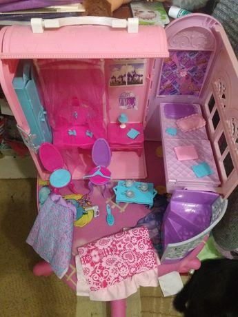 Переносной домик для Барби