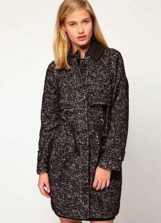 Пальто шерсть альпака Whistles Zara куртка  парка