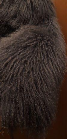 СРОЧНО продам шубу натуральная лама