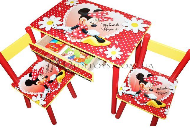 Детский стол Красотка. Выбор рисунка. Оригинал