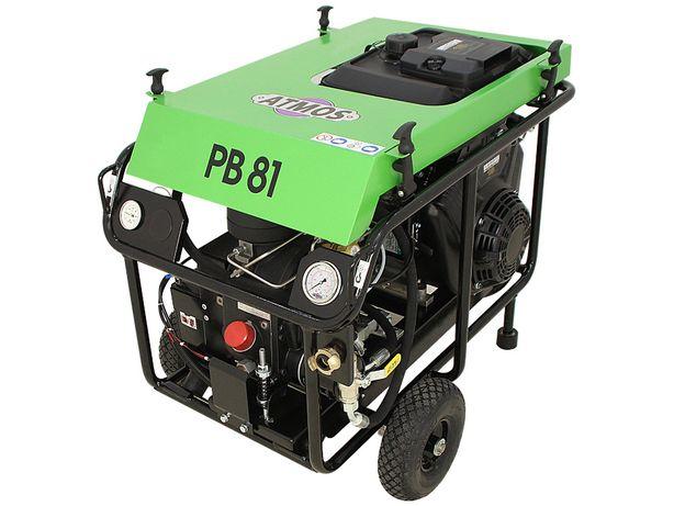 Kompresor sprężarka śrubowa ATMOS PB81 kret, przeciski, wdmuchiwarki