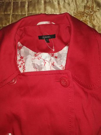 Płaszczyk Czerwony 40 42