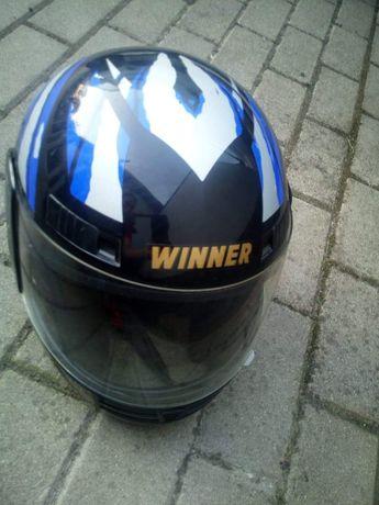 Kask Motocyklowy Winner  Rozmiar M 57-58cm. Stan idealny