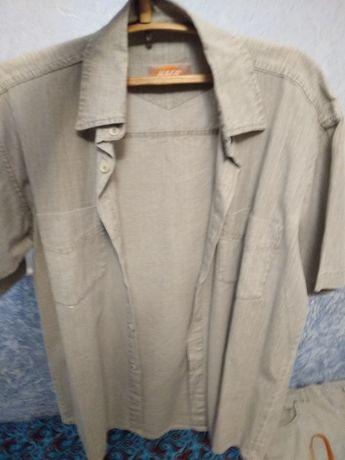 Лляні рубашка та штани