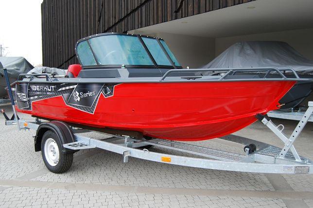 Алюминиевая моторная лодка Беркут S-Fisher