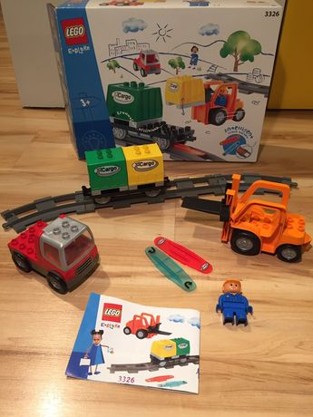 Lego duplo 3326 pociąg Wagon inteligentny na baterie