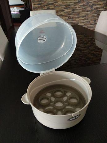 Esterilizador para 6 Biberões para Microondas Jané 0m+