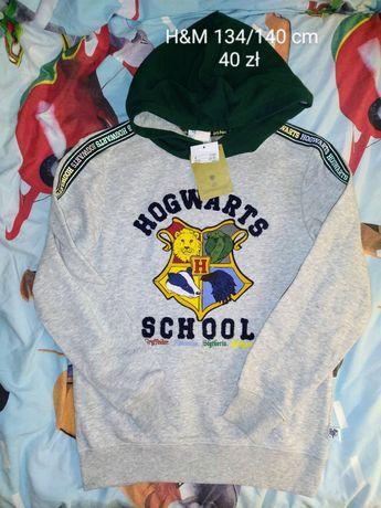Nowa, mega bluza H&M rozmiar 134/140 cm dla fana Harrego Pottera