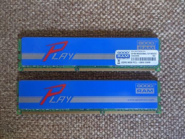 Goodram Play DDR3 8GBx2=16Gb (PC3-12800 DIMM)