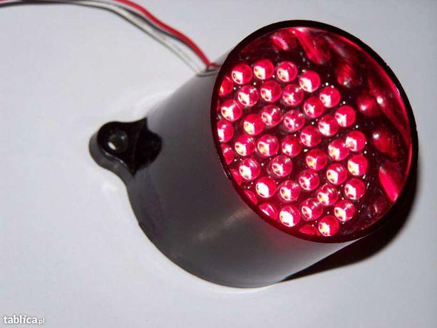 Bardzo jasny LED czerwony 50 diod (klaster) nieużywany TANIO 3000 szt.