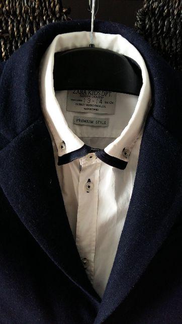 koszula biała Zara kids,marynarka Zara Boys 164
