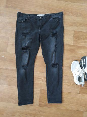 Джинсы рваные, штаны стильные, батал. Большой размер