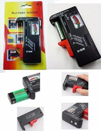 Tester miernik baterii akumulator r3 r6 AAA AA