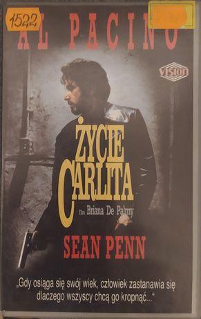 ŻYCIE CARLITA !!! Al Pacino !!! Kaseta VHS video !!!