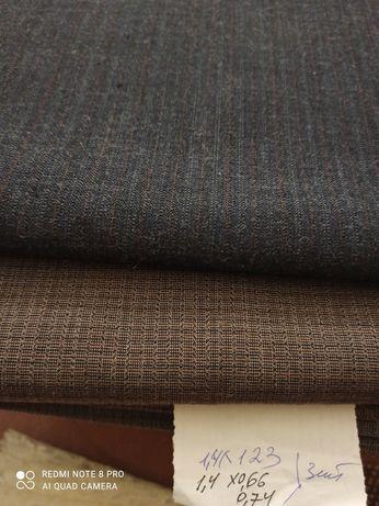 Ткань из натуральной шерсти, драп, вельвет